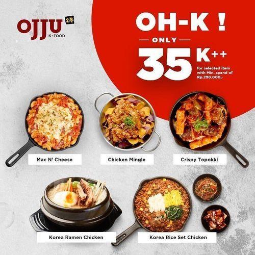 OJJU Korean Food Oh K Only 35K++ (26997551) di Kota Jakarta Selatan