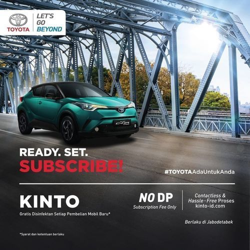 ToyotaID Ready. Set. Subscribe (26997695) di Kota Jakarta Selatan