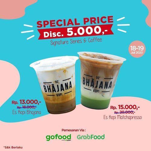 BHAJANA KOPI PROMO SPECIAL PRICE DISC. 5000 (26997707) di Kota Jakarta Selatan