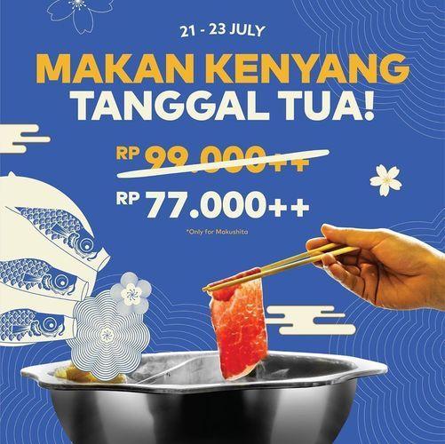 Kitamura Shabu-Shabu Promo Only 77.000++ (27011023) di Kota Jakarta Selatan
