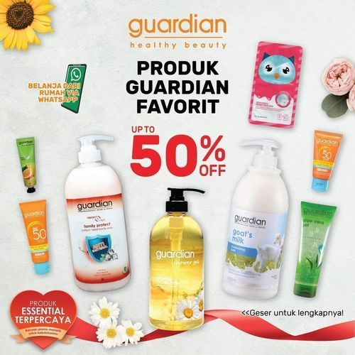 Guardian Promp Produk Favorit 50% Off (27014719) di Kota Jakarta Selatan