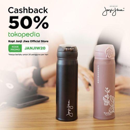Kopi Janji Jiwa Cashback 50% Tokopedia (27014831) di Kota Jakarta Selatan