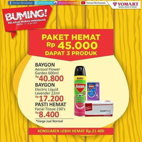 Yomart Minimarket Paket Hemat Rp. 45.000 (27015203) di Kota Jakarta Selatan