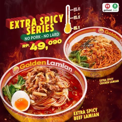 Golden Lamian Extra Spicy Series (27015411) di Kota Jakarta Selatan