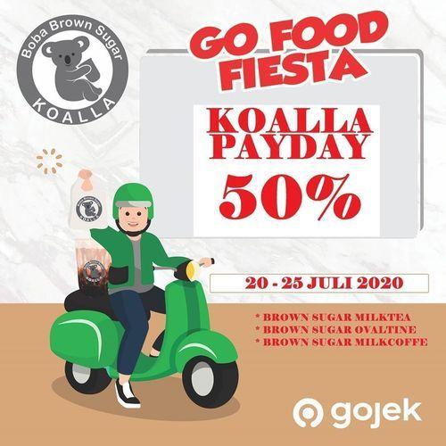 Koalla Gofood Fiesta 50% Off (27015431) di Kota Jakarta Selatan