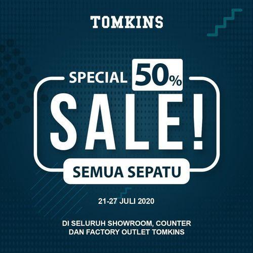 Tomkins Special Sale 50% Off (27015439) di Kota Jakarta Selatan