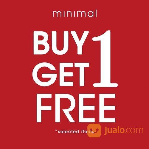 Minimal Buy 1 Get 1 Free (27015443) di Kota Jakarta Selatan
