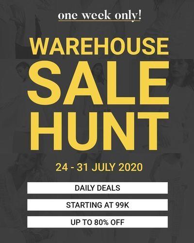 Love & Flair Warehouse Sale Hunt (27015447) di Kota Jakarta Selatan