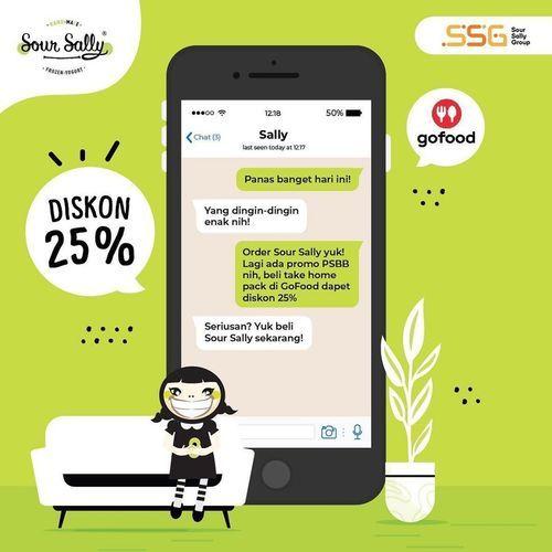 Sour Sally Diskon 25% (27029327) di Kota Jakarta Selatan