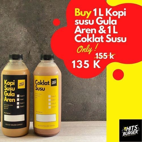 HitsBurger - Discounted Price 135k (27030799) di Kota Jakarta Selatan