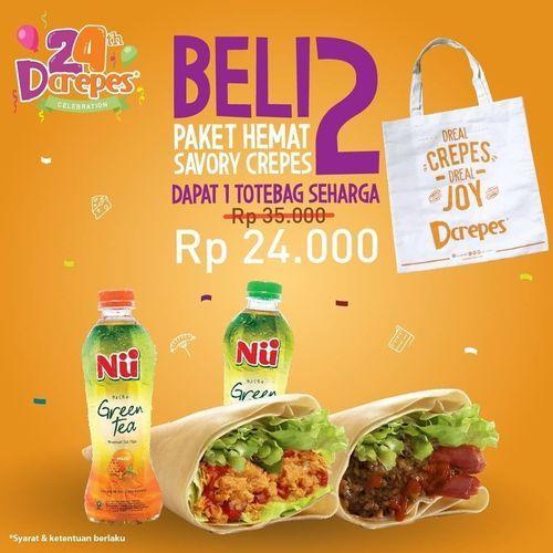 Dcrepes - Beli 2 Dapet 1 Totebag Rp 24.000,- (27030803) di Kota Jakarta Selatan