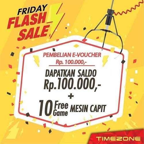 Timezone Indonesia - Friday Flash Sale (27030831) di Kota Jakarta Selatan