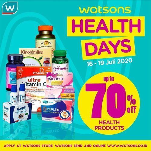 WATSON HEALTH DAYS PROMO UP TO 70% HEALTH PRODUCTS (27035571) di Kota Jakarta Selatan