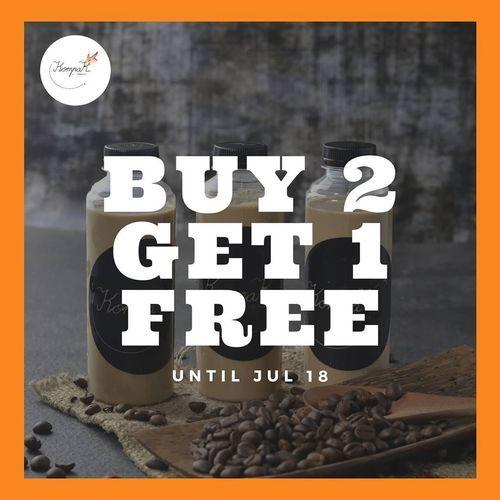 KOMPAK COFFEE BUY 2 GET 1 FREE PROMO (27038623) di Kota Jakarta Selatan