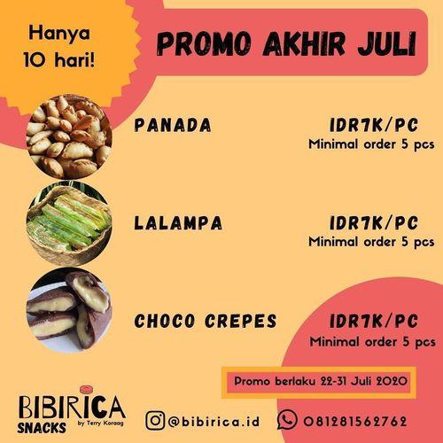 PROMO AKHIR BULAN BIBIRICA (27039527) di Kota Jakarta Selatan