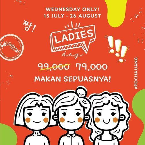 Korean BBQ Pochajjang - Ladies Day (27041131) di Kota Jakarta Selatan