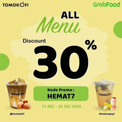 Tomokofi - All Menu Discount 30% (27041251) di Kota Jakarta Selatan