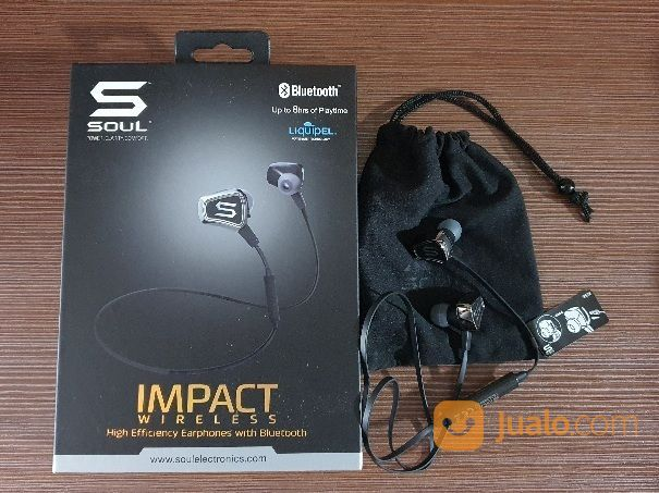 [Preloved] Soul Impact Original Wireless Bluetooth Earphone (27069415) di Kota Jakarta Pusat