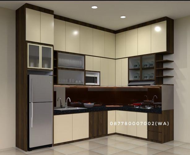 Kitchen Set Murah Finishing Hpl Di Banyumas Purwokerto (27088407) di Kab. Banyumas
