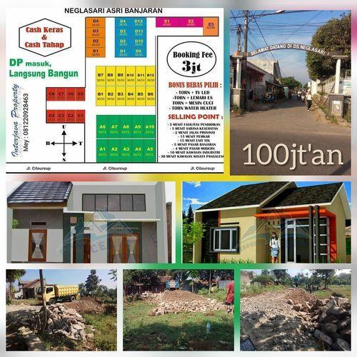 Rumah Berkualiats 100jt An TERPERCAYA Citereup Bugel Bebas Banjir Legalitas Valid Langsung Bangun (27096539) di Kab. Bandung