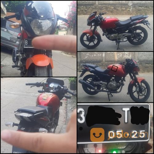 Pulsar 180 Ug 4 2012 Murah Bahan Custom (27130591) di Kota Jakarta Timur
