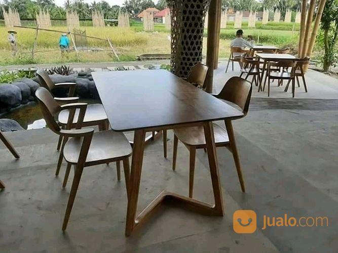 Kursi Cafe Minimalis Kayu Jati Jakarta Barat Jualo