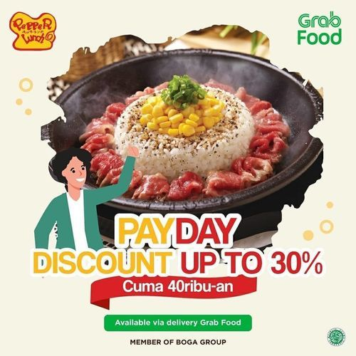 Pepper Lunch Promo Payday Discount Up To 30% (27134119) di Kota Jakarta Selatan
