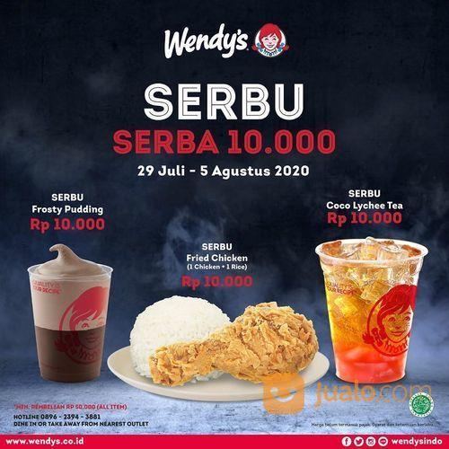 WENDY'S PROMO SERBU (SERBA 10.000) (27142791) di Kota Jakarta Selatan