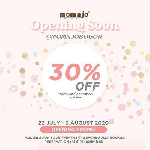 MOM N JO PROMO OPENING DISKON 30% OFF (27143631) di Kota Jakarta Selatan