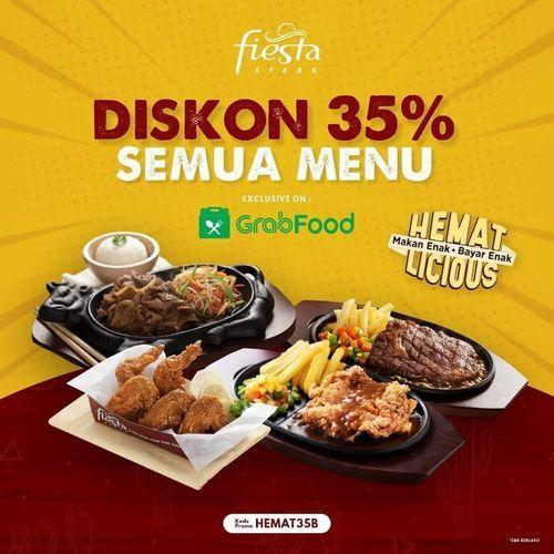 Fiesta Steak Diskon 25% Semua Menu (27154587) di Kota Jakarta Selatan