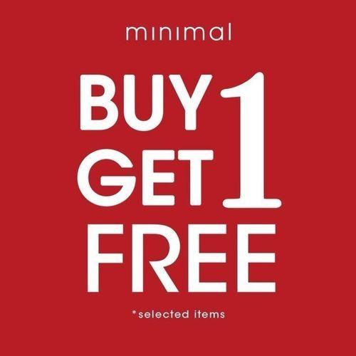 Minimal Promo Buy 1 Get 1 Free (27154643) di Kota Jakarta Selatan