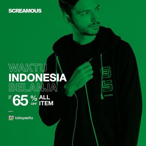 Screamous Clothing 65% Off All Item (27154667) di Kota Jakarta Selatan