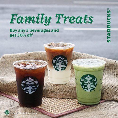 Starbucks Family Treats Promo (27172051) di Kota Jakarta Selatan