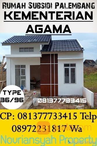 Rumah Subsidi Spek Rasa Komersial Harga Murah All In Cukup 3 Jt Sampai Terima Kunci Palembang (27181467) di Kota Palembang