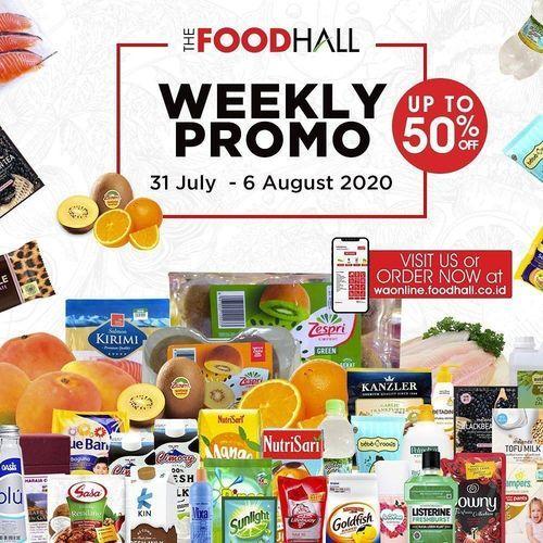 FoodHall Weekly Promo Up To 50% (27184099) di Kota Jakarta Selatan
