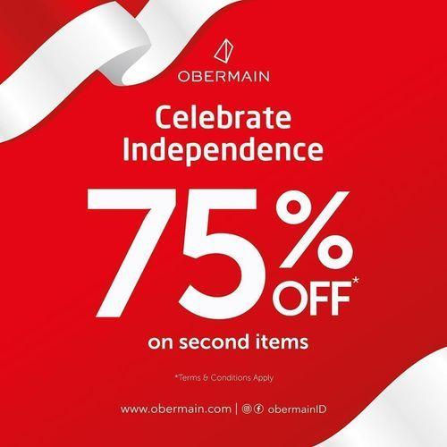 Obermain Indonesia Celebrate Independence 70% Off (27202671) di Kota Jakarta Selatan