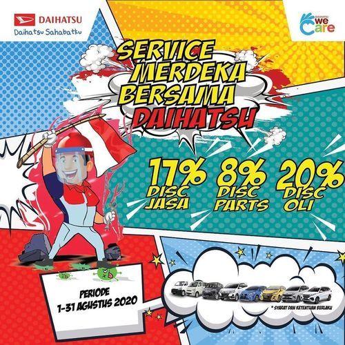 Daihatsu Service Merdeka Bersama Daihatsu (27221399) di Kota Jakarta Selatan