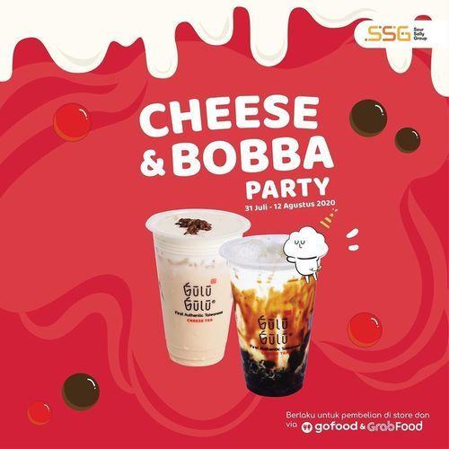 Gulu Gulu Cheese Tea Promo Cheese & Bobba Party (27221599) di Kota Jakarta Selatan