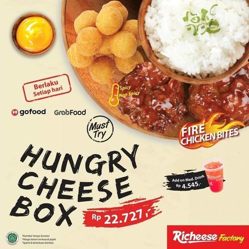 Richeese Factory Hungry Cheese Box (27225067) di Kota Jakarta Selatan