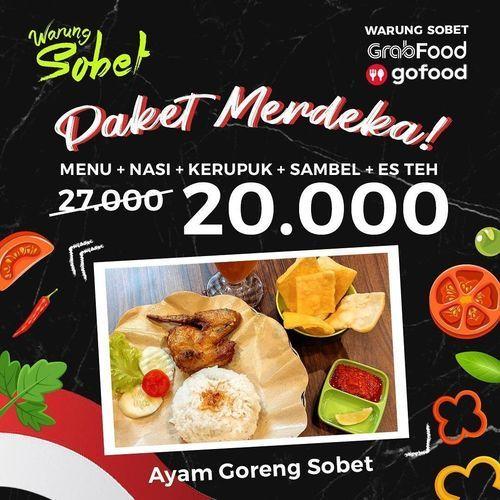 PROMO PAKET MERDEKA DARI WARUNG SOBET (27227427) di Kota Pekanbaru