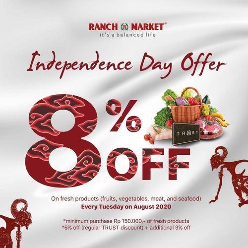 Ranch Market Independence Day Offer 8% Off (27236691) di Kota Jakarta Selatan