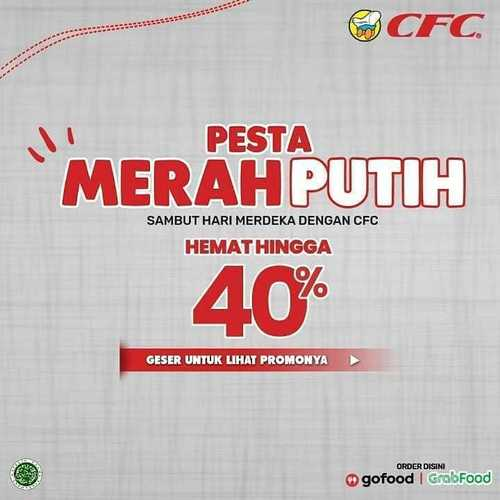 CFC Promo Pesta Merah Putih (27237107) di Kota Jakarta Selatan