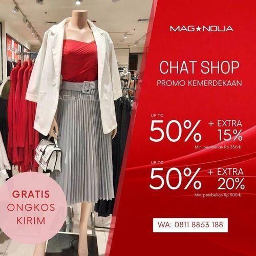 Magnolia Promo Kemerdekaan Chat & Shop (27253811) di Kota Jakarta Selatan