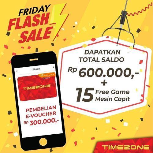 Timezone Indonesia Friday Flash Sale (27253995) di Kota Jakarta Selatan