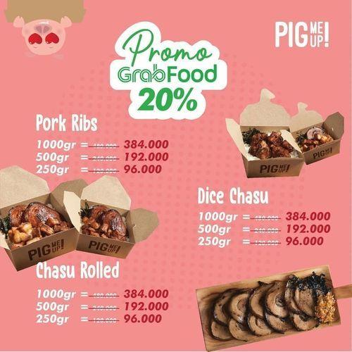 Pig Me Up Promo Grabfood 20% (27278855) di Kota Jakarta Selatan