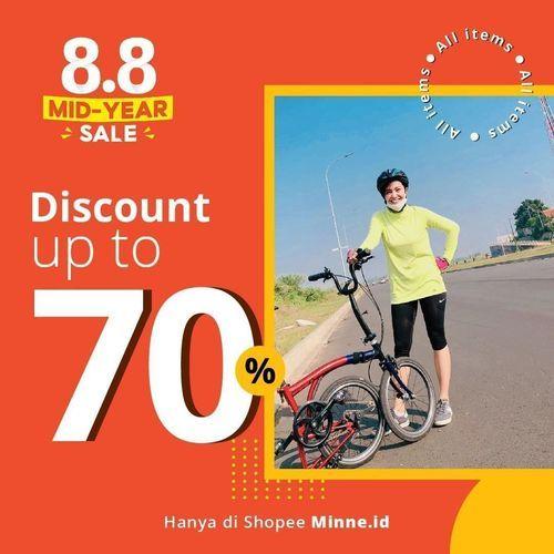 Minne Sport Wear Discount Up To 70% (27279239) di Kota Jakarta Selatan