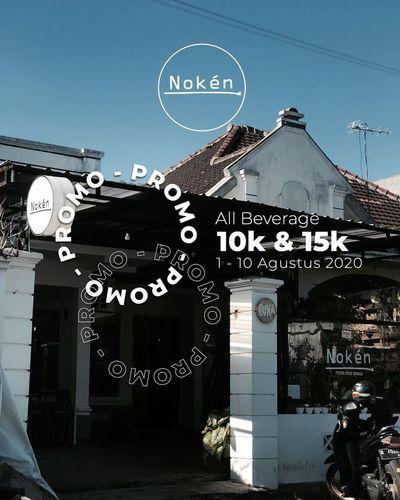 NOKEN COFFEE PROMO ALL BEVERAGE RP 10K & 15K (27295611) di Kota Jakarta Selatan