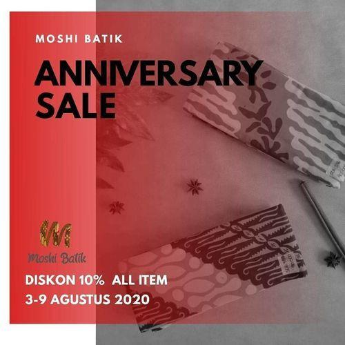 "Moshi Batik ""ANNIVERSARY SALE"" Diskon 10% all item (27296607) di Kota Jakarta Selatan"