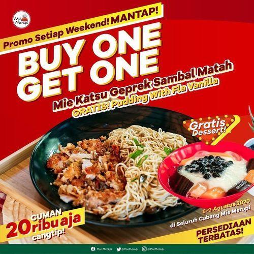 MIE MERAPI PROMO BELI 1 GRATIS 1 (27305463) di Kota Bandung