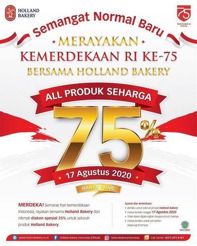 Holland Bakery All Produk 75% Off (27306303) di Kota Jakarta Selatan